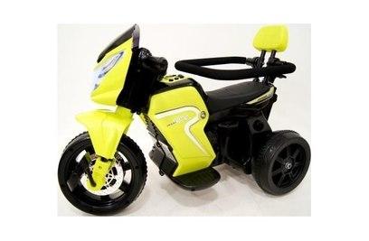 Велосипед|электромотоцикл 2в1 O777OO (белый, зеленый)