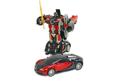 Радиоуправляемый трансформер MZ Bugatti Veyron Red 1:22 - 2331X-R