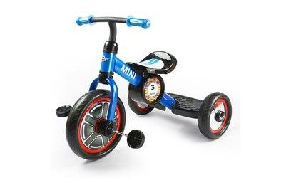 Детский трехколесный синий велосипед Rastar - RSZ3002LA