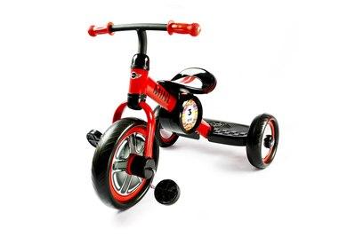 Детский трехколесный красный велосипед Rastar - RSZ3002CR