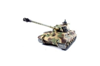 Радиоуправляемый танк Heng Long German King Tiger 1 Henschel 1:16 2.4G - 3888A-1