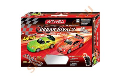 Автотрек Wineya Slot Racing track 1:43 - W16806