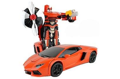 Радиоуправляемый трансформер MZ Lamborghini Aventodor Orange 1:14 - 2321P