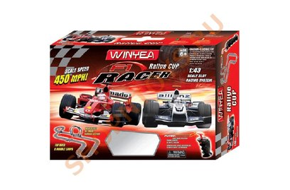Автотрек Wineya Slot Racing track 1:43 - W16901