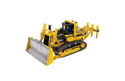 Конструктор Lepin Technics 20008 бульдозер с электроприводом (аналог LEGO Technic 8275)