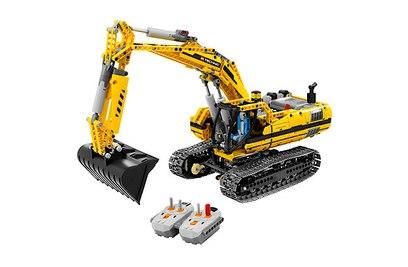 Конструктор Lepin Technics 20007 моторизированный экскаватор (аналог LEGO Technic 8043)