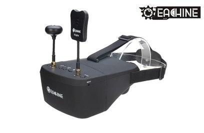 Eachine Видеошлем EV800D Diversity 5' 800x480 5.8Ghz - EACH-EV800D