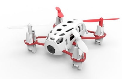 Квадрокоптер Hubsan H111C HD (Белый)