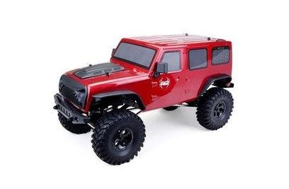 Радиоуправляемый краулер HSP RGT Waterproof 4WD RTR масштаб 1:10 2.4G - EX86100 (Красный)