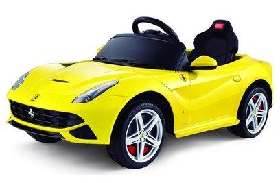 Электромобиль Rastar Ferrari F12 12V - 81900 (желтый)
