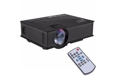 Мини проектор Unic UC 46+ (Черный)