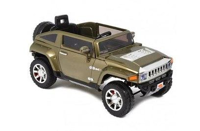 Электромобиль Harley Bella Hummer HX 12V - HL188-G (зеленый)