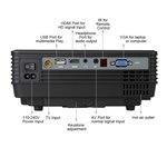 Мини проектор RD805A (Черный)
