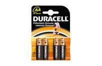 Комплект батареек Duracell  (4 шт)