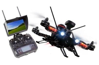 Walkera Runner 250 Pro (Devo 7 / 800TVL / GPS + Глонасс/ OSD / FPV Экран)