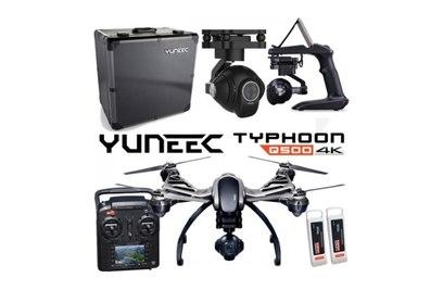 Yuneec Q500 4K + кейс и АКБ