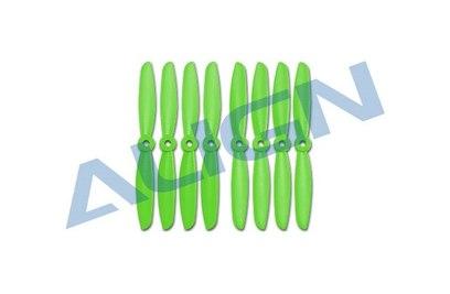 Align Пропеллеры 5045 (зеленые) 4 CW + 4 CCW: MR25/MR25P