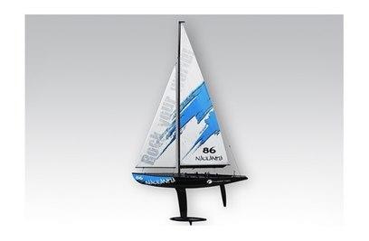 Яхта Thunder Tiger Naulantia (синий) KIT-набор