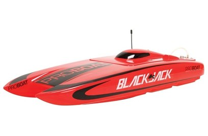 Катер на пульте ProBoat Blackjack 24 Brushless