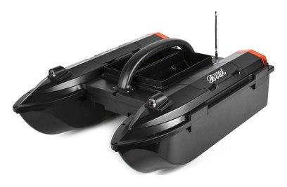 Радиоуправляемый катер для рыбалки JABO 5C (черный)