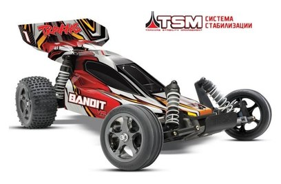 Traxxas Bandit VXL 2WD Tqi (багги; 1:10)