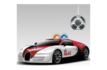 "Р/у конструктор - автомобиль Bugatti Veyron ""Полиция"""