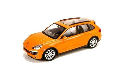 Porsche Cayenne orange 2wd (р/у автомодель; 1:14)