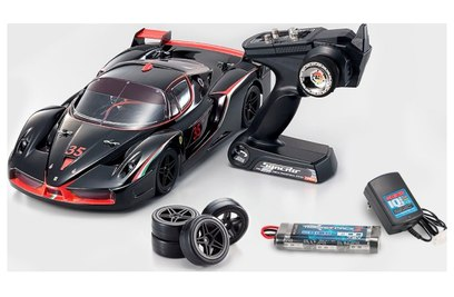 Kyosho Fazer VE Ferrari FXX Evoluzione 4WD (шоссе, 1:10)