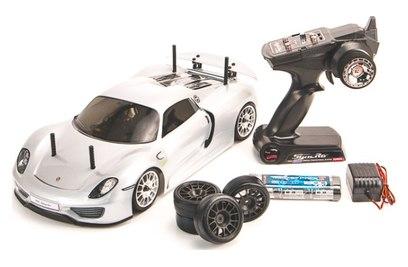 Kyosho Fazer VE Porsche 918 Spyder We T1 4WD (шоссе, 1:10)