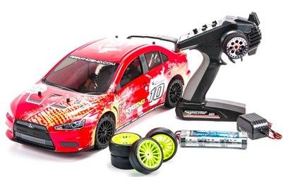 Kyosho Fazer VE-X Lancer Evolution T2 4WD (ралли, 1:10)