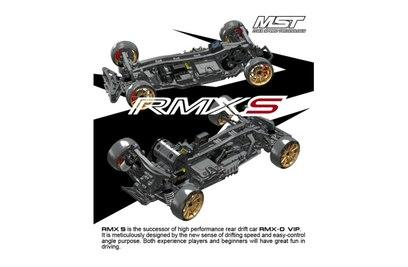 Комплект для сборки модели для дрифта MST RMX-S KIT 2WD масштаб 1:10 - MST-532161