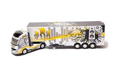 Радиоуправляемый грузовик со светом и музыкой Shantou Ltd.