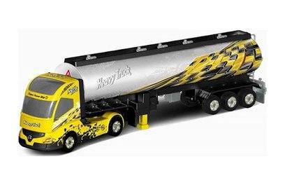 Р/у фура с прицепом Rui Chuang Heavy Truck 201D 1:32