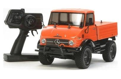 Tamiya XB Unimog 406 (CC-01) Orange 4WD (трагги, 1:10)