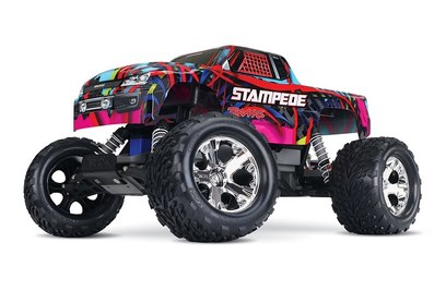 Traxxas Stampede 2WD (Монстр-трак)