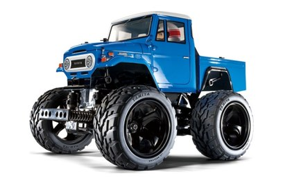 Tamiya XB Toyota LC40 Pick-Up (KIT, внедорожник, 1:10)