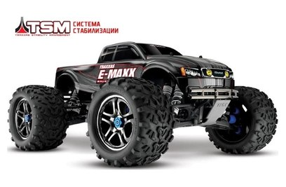 Traxxas E-Maxx TQi Ready to Bluetooth Module TSM 4WD (Монстр-трак; 1:10)