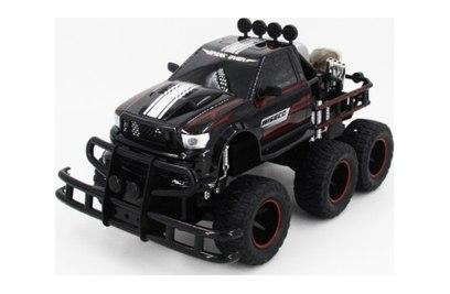 Радиоуправляемая машина джип 6х6 YED Black Thunder Speed WE-7