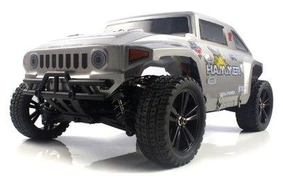 Iron Track Hummer 4WD (шорт-корс трак; 1:10)