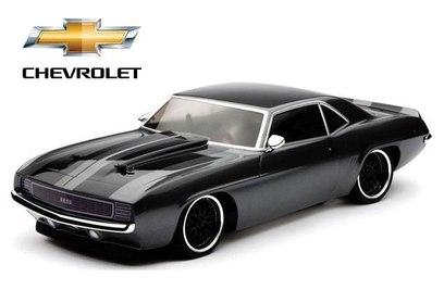 Vaterra Chevrolet Camaro 1969 V100-S 4WD (шоссе, 1:10)