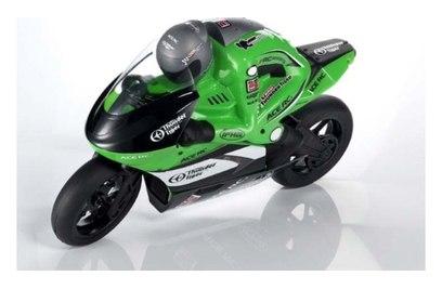 Радиоуправляемый мотоцикл SB5 БК (зел)