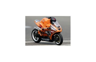 Радиоуправляемый мотоцикл SB5 комплект RTR с б|к двигателем, оранжевый - 6575-F273