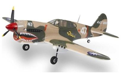 Радиоуправляемый самолет Phoenix Model P40 Kitty Hawk .61-91 15cc