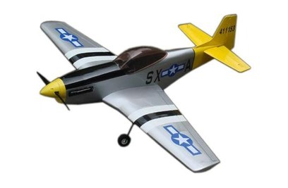 Радиоуправляемый самолет CYmodels Mustang P-51D 46