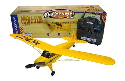 Радиоуправляемый самолет Thunder Tiger Micro J-3 Cub 2.4G