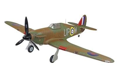 Радиоуправляемый самолет Dynam Hawker Hurricane World War II 2.4G