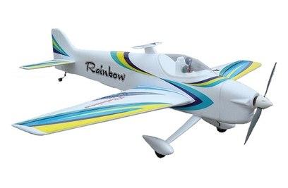 Радиоуправляемый самолет NFD Rainbow F3A 3D Aerobatic Blue Edition 2.4G