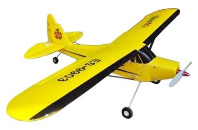 Радиоуправляемый самолет EasySky Piper J3 Cub Yellow Edition 2.4G