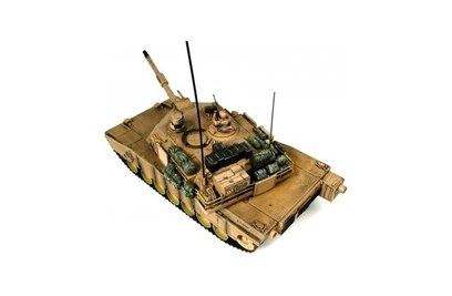 Радиоуправляемый танк Hobby Engine М1А2 Abrams 1:16 27Mhz (Танки; 1:16)