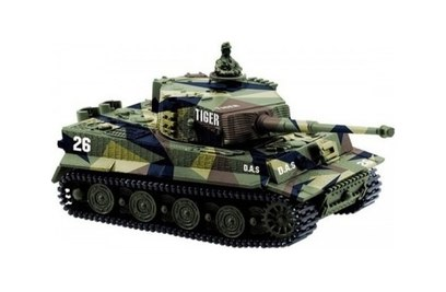 Радиоуправляемый танк Great Wall Toys Tiger I 1:72 27Mhz
